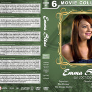 Emma Stone Filmography - Set 1 (2007-2009) R1 Custom DVD Cover