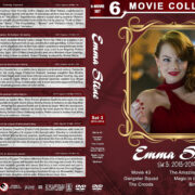 Emma Stone Filmography - Set 3 (2013-2014) R1 Custom DVD Cover