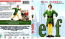 ELF (2003) R1 BLU-RAY COVER & LABEL