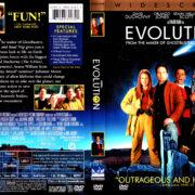 EVOLUTION (2001) R1 DVD COVER & LABEL