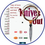 Knives Out (2019) R2 Custom DVD Label