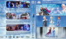 Frozen Triple Feature R1 Custom Blu-Ray Cover