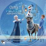 Olaf's Frozen Adventure (2017) R1 Custom DVD Cover