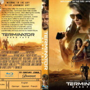Terminator: Dark Fate (2019) R1 Custom Blu-ray Cover & Label