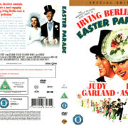 EASTER PARADE (1948) R2 SE DVD COVER & LABEL
