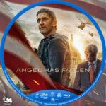 Angel Has Fallen (2019) R1 Custom Blu-Ray Labels