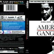 American Gangster (2007) R1 4K UHD Cover