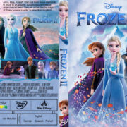 Frozen ɪɪ (2019) R1 Custom DVD Cover & Label