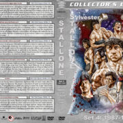 Sylvester Stallone Filmography - Set 4 (1987-1991) R1 Custom DVD Cover