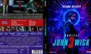 John Wick - Kapitel 3 (Custom- Steelbook) (2019) R2 German Blu-Ray Cover