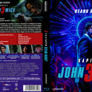 John Wick - Kapitel 3 (Custom- Steelbook) (2019) R2 German Blu-Ray Cover