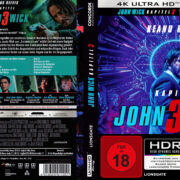 John Wick - Kapitel 3 (Custom- Steelbook) (2019) R2 German 4K UHD Covers