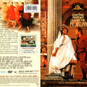 A FUNNY THING HAPPENED ON THE WAY TO THE FORUM (1966) R1 DVD COVER & LABEL