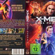 X-Men-Dark Phoenix (2019) R2 German DVD Cover
