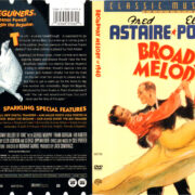 BROADWAY MELODY OF 1940 R1 DVD COVER & LABEL
