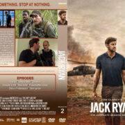 Jack Ryan - Season 2 (2019) R1 Custom DVD Cover & Labels
