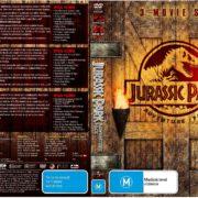 Jurassic Park Trilogy (2008) R4 DVD Cover