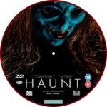 Haunt (2019) R2 Custom DVD Label