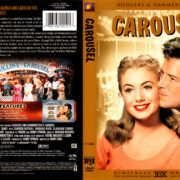 CAROUSEL (1956) R1 DVD COVER & LABEL