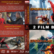 Spider-Man Avengers Double feature R1 Custom Blu-Ray Cover