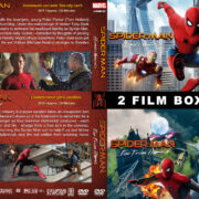 Spider-Man Avengers Double feature R1 Custom DVD Cover