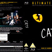 CATS ULTIMATE EDITION (2013) R2 BLU-RAY COVER & LABEL