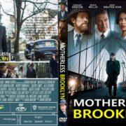 Motherless Brooklyn (2019) R0 Custom DVD Cover & Label