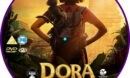 Dora and the Lost City of Gold (2019) R2 Custom DVD label