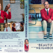 A Beautiful Day in the Neighborhood (2019) R1 Custom DVD Cover & label