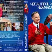 A Beautiful Day in the Neighborhood (2019) R1 Custom DVD Cover & label V2