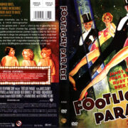 FOOTLIGHT PARADE (1933) R1 DVD COVER & LABEL