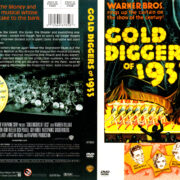 GOLD DIGGERS (1933) R1 DVD COVER & LABEL