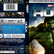The Incredible Hulk (2008) R1 4K UHD Cover