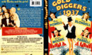GOLD DIGGERS OF 1937 R1 DVD COVER & LABEL