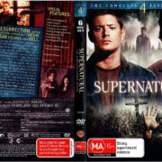 Supernatural Season 4 (2009) R4 DVD Cover