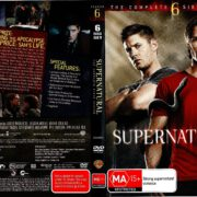 Supernatural Season 6 (2011) R4 DVD Cover