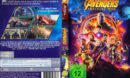 Avengers-Infinity War (2018) R2 German DVD Cover