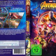 Avengers-Infinity War (2018) R2 German DVD Cover