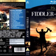 FIDDLER ON THE ROOF (1971) R2 BLU-RAY COVER & LABEL