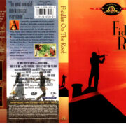 FIDDLER ON THE ROOF (1971) R1 DVD COVER & LABEL