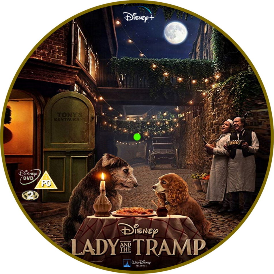 Lady And The Tramp 2019 R2 Custom Dvd Label Dvdcover Com