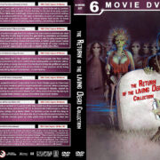 Return of the Living Dead Collection R1 Custom DVD Cover
