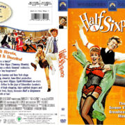 HALF A SIXPENCE (1967) R1 DVD COVER & LABEL