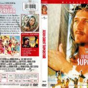 JESUS CHRIST SUPERSTAR (1973) R1 DVD COVER & LABEL