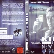 King of New York (1990) R2 German DVD Cover
