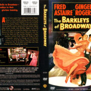 THE BARKLEY'S OF BROADWAY (1949) R1 DVD COVER & LABEL