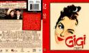 GIGI (1958) R1 BLU-RAY COVER & LABEL