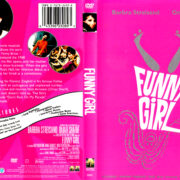 FUNNY GIRL (1968) R1 DVD COVER & LABEL