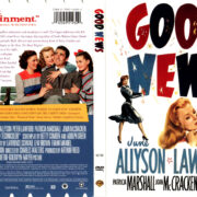 GOOD NEWS (1947) R1 DVD COVER & LABEL
