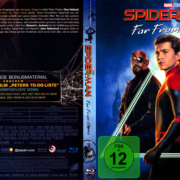 Spider-Man: Far from Home (2019) R2 German Blu-Ray Cover